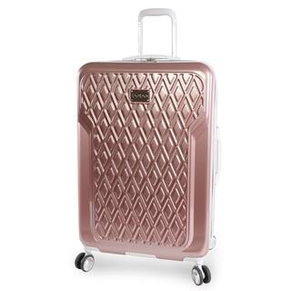 bebe Stella Rose Gold 29-inch Hardside Spinner Suitcase|https://ak1.ostkcdn.com/images/products/16849363/P23148288.jpg?impolicy=medium