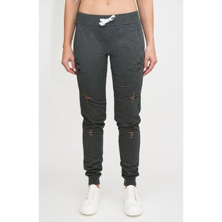 Distressed Terry Jogger