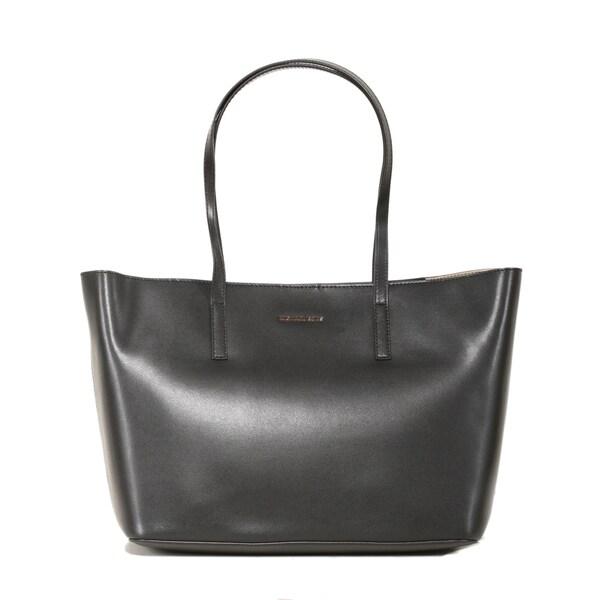 17c54d7042db Shop Michael Kors Emry Large Black Tote Bag - Free Shipping Today ...