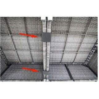 Hiawatha Patio Furniture Connector/Fastener Clips (Set of 10 pcs)