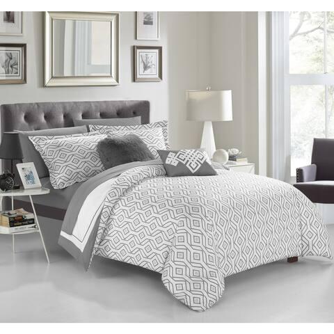 Chic Home Alon 9-piece Complete Reversible Comforter Set