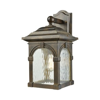 Link to Stradelli 1-light Outdoor Wall Sconce Similar Items in Outdoor Wall Lights