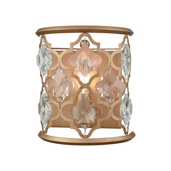 Shop Armand Matte Goldtone/Clear Crystal Metal 1-light