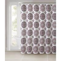Ruthy's Textile Tile Dobby Shower Curtain
