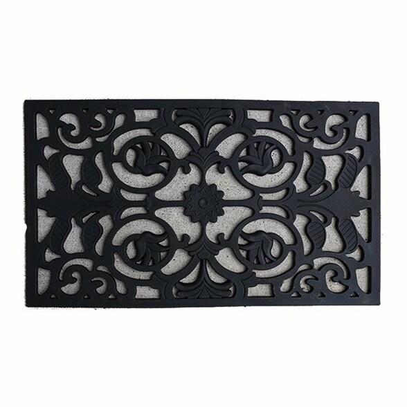 Fh Group Indoor Outdoor Mats Rugs Doormat 18 X 30 Rubber Utility Mat