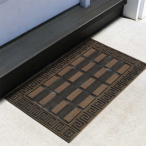 Fh Group Indoor Outdoor Mats Rugs Doormat 18 X 30 Rubber Utility Mat