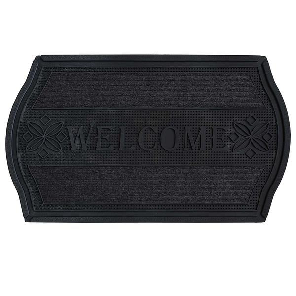 Shop Fh Group Indoor Outdoor Mats Rugs Doormat 18 Quot X 30