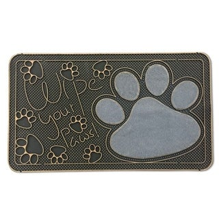 """FH Group Indoor Outdoor Mats Rugs Doormat 16"""" x 28"""" - Door mat Pet and Animal Lovers"""