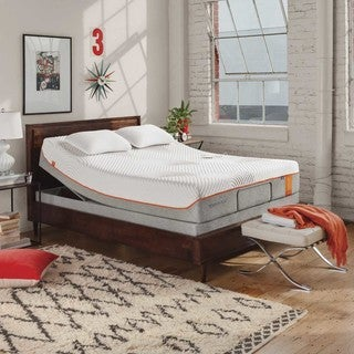 TEMPURContour Supreme 11.5-inch King-size UP Adjustable Mattress Set