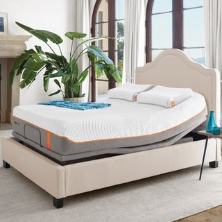TEMPURContour Supreme 11.5-inch Queen-size Ergo Premier Adjustable Mattress Set