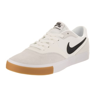 Nike Men's Paul Rodriguez 9 VR White Suede Skate Shoes
