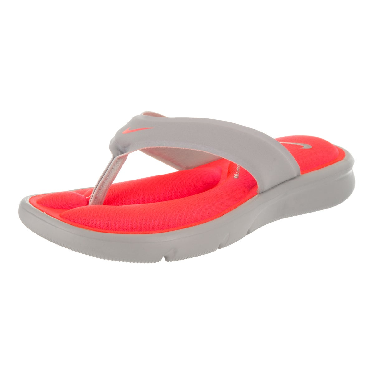 Nike Women's Ultra Comfort Thong Sandal (10), Grey
