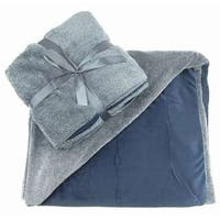 TrailWorthy Reversible Ultra Plush Blanket