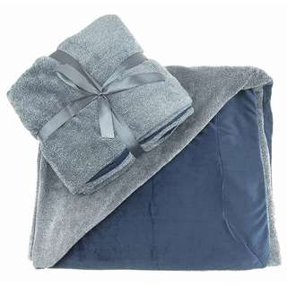 TrailWorthy Reversible Ultra Plush Blanket (Case of 12)