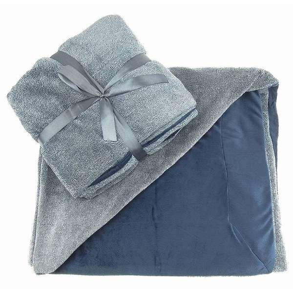 TrailWorthy Reversible Ultra Plush Blanket (Case of 12)