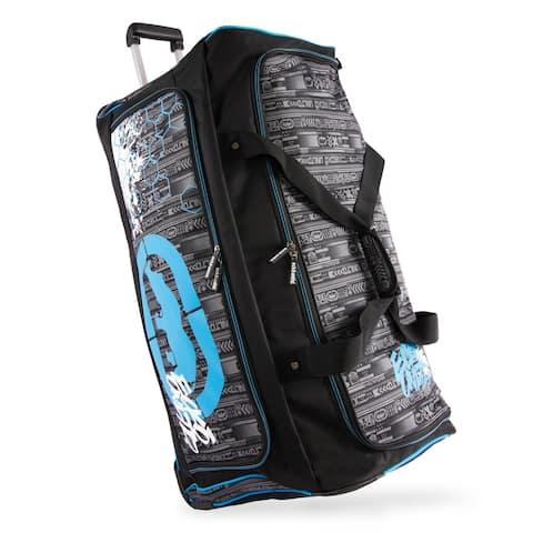 Ecko Unltd. Tagger Large 32-inch Rolling Duffel Bag