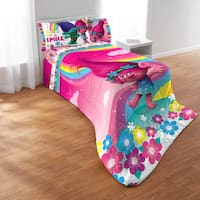 Dreamwork's Trolls Show Me A Smile 5-piece Bed In A Bag Set