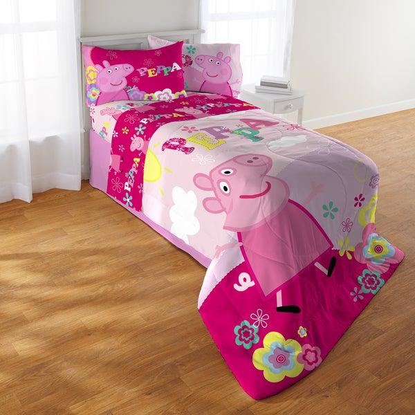 Peppa Pig Tweet Tweet Oink 5 Piece Bed In A Bag Set