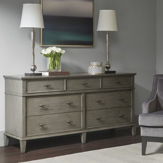 Madison Park Signature Yardley Reclaimed Grey 7-Drawer Dresser