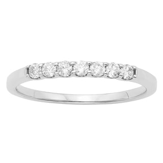 14K Certified 1/4CT Diamond Wedding/Anniversary Band