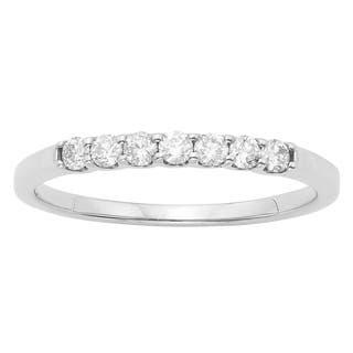 14K Certified 1/4CT Diamond Wedding/Anniversary Band|https://ak1.ostkcdn.com/images/products/16850576/P23149359.jpg?impolicy=medium