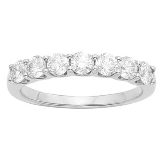 14K Certified 1CT Diamond Wedding/Anniversary Band