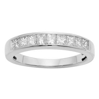 14K Certified 3/4CT Diamond Wedding/Anniversary Band