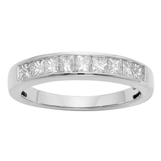 14K Certified 3/4CT Diamond Wedding/Anniversary Band