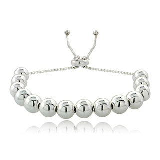 Mondevio Bead Adjustable Slider Bracelet