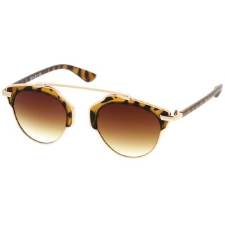 Epic Eyewear Retro Fashion Dapper Frame Brow Bar Women Sunglasses Model S60W3196