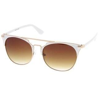 a97ea132be Quick View. Option 28040259. Option 28040257. Option 28040260.  11.79. Epic  Eyewear Retro Fashion Flat Top Double Wire Women Sunglasses Model S60W3181