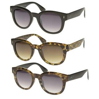 Epic Eyewear Vintage Fashion Thick Bold Round Frame Sunglasses S61NGW3157