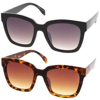 Epic Eyewear Retro Fashion Thick Square Frame Simple Women Sunglasses Model 78
