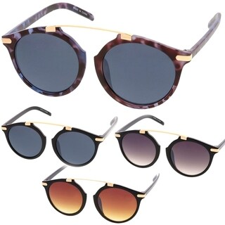 Epic Eyewear Retro Fashion Dapper Frame Brow Bar Women Sunglasses Model 71