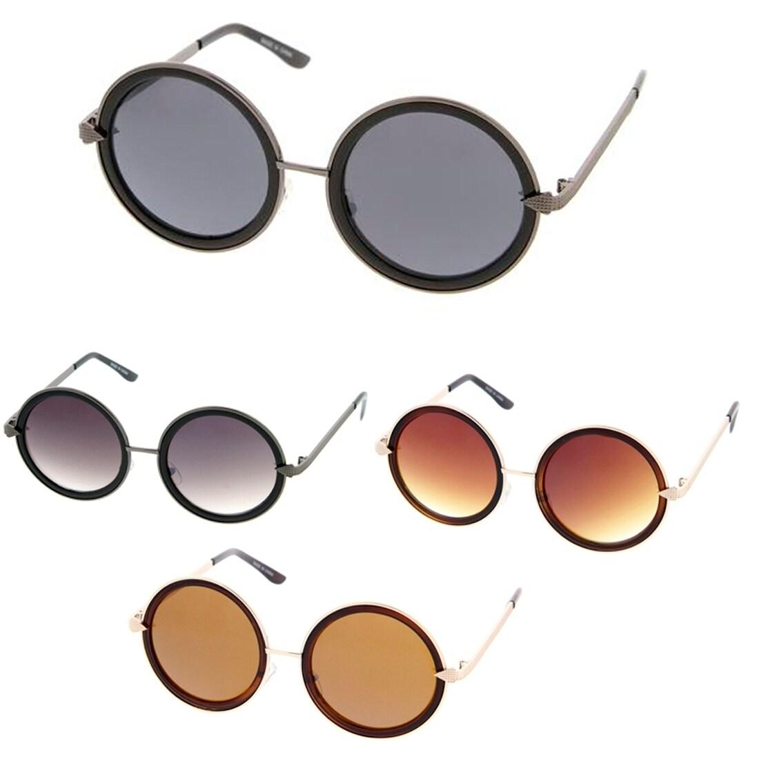 8db0c6ec6f Epic Eyewear Retro Fashion Round Thick Frame Women Sunglasses Model ...