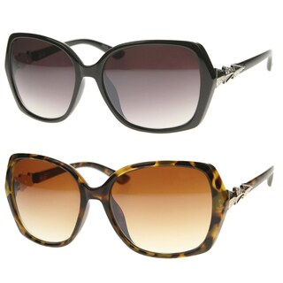Epic Eyewear Vintage Fashion Rectangular Butterfly Frame Sunglasses S61NGSA38 (3 options available)