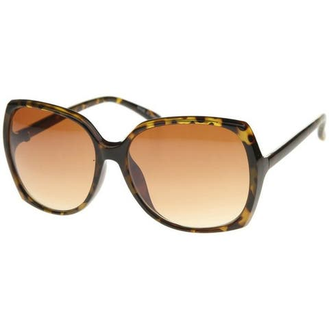 09fd0d09e643a Epic Eyewear Simple Fashion Rectangular Butterfly Frame Sunglasses S61NGSA34