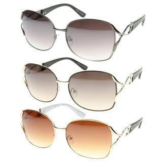 Epic Eyewear Urban Fashion Rectangular Aviator Wired Sunglasses S61NG9434