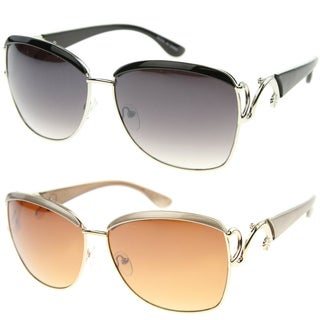 Epic Eyewear Urban Fashion Rectangular Brow Bar Sunglasses S61NG1250