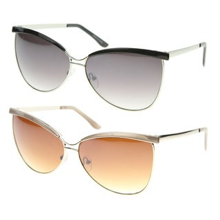 Epic Eyewear Urban Fashion Cat Eye Brow Bar Sunglasses S61NG1230