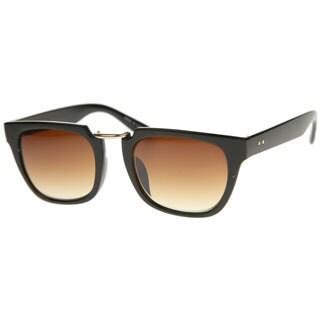 Epic Eyewear Urban Fashion Rectangular Flat Top Brow Bar Sunglasses S61NG1078