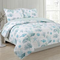 Panama Jack Siesta Key 3-piece Reversible Quilt Set