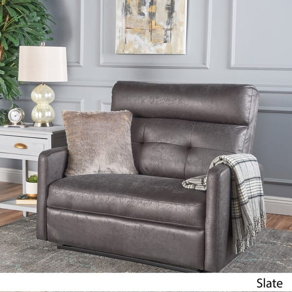 Marvelous Shop Halima Microfiber 2 Seater Recliner Club Chair By Pdpeps Interior Chair Design Pdpepsorg