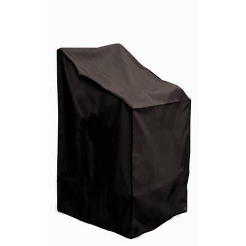 Black Waterproof UV Resistant Large Lounge Chair Cover