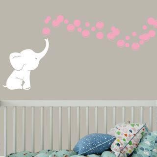 Pink Nursery Decor For Less Overstockcom - Pink and grey nursery decor