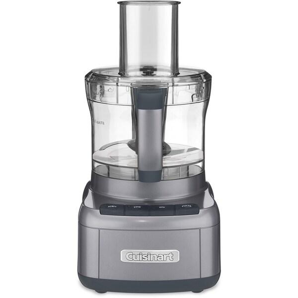 Cuisinart Elemental 8-Cup Food Processor (Refurbished), Dark Gray