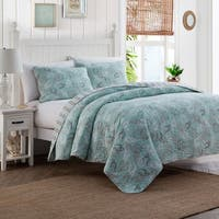 Seashell Cotton 3-piece Quilt Set