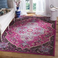 Safavieh Artisan Oriental Purple/ Black Area Rug - 3'3 x 5'3
