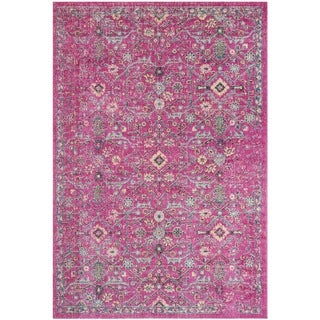 Safavieh Artisan Oriental Purple/ Black Area Rug (3'3 x 5'3)