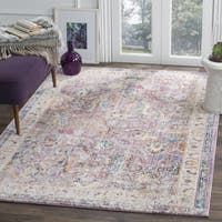Safavieh Bristol Oriental Purple/ Grey Area Rug - 3'x 5'
